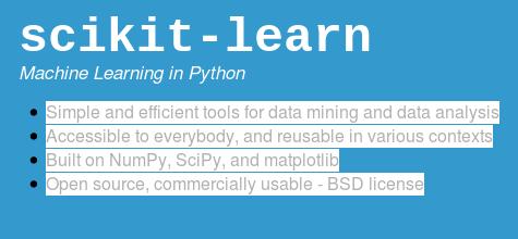 Scikit-learn Resources – Deep Learning Garden